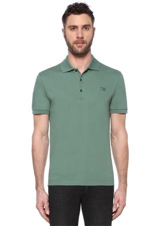 Bottega Veneta Erkek Yeşil Logo Nakışlı Polo Yaka -shirt 54 I (IALY) Ürün Resmi