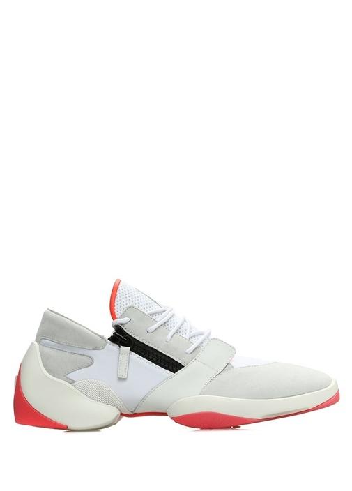 Jump Beyaz Taban Detaylı Erkek Süet Sneaker