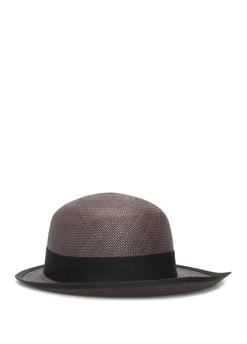 Lady Queen Siyah El Yapımı Kadın Hasır Şapka