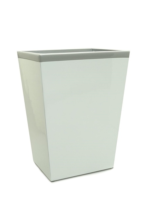 Regatta Beyaz Şerit Detaylı Çöp Sepeti