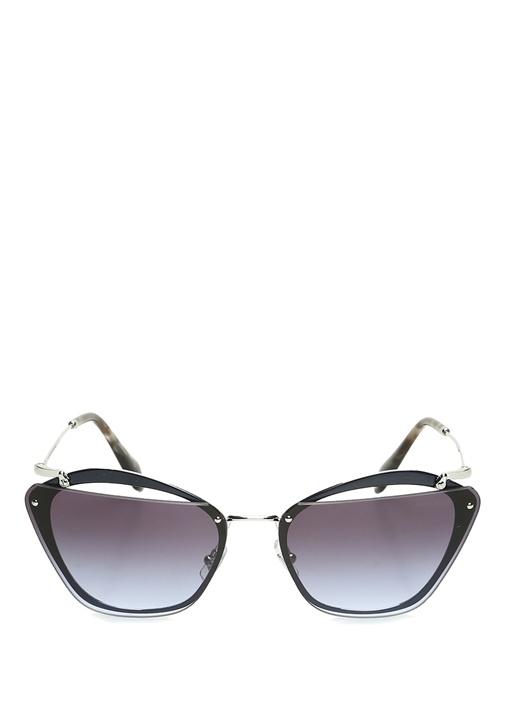 Noir Siyah Cat Eye Formlu Kadın Güneş Gözlüğü
