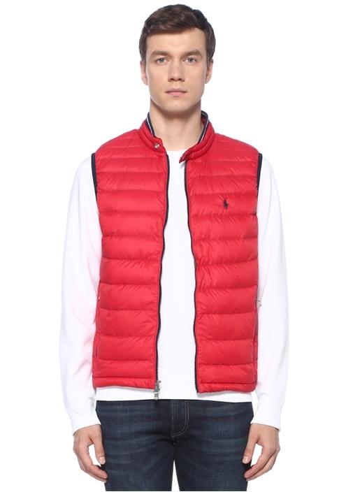 Polo Ralph Lauren Kırmızı Logo Nakışlı Puff Dış Yelek – 1349.0 TL