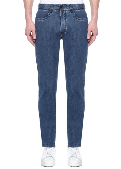 Regular Fit Lacivert Jean Pantolon
