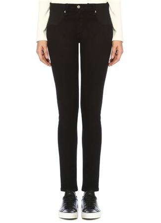 Maternity Siyah Beli Lastikli Skinny Jean Pantolon