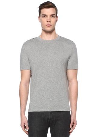 Rockstud 09 Gri Melanj Basic T-shirt