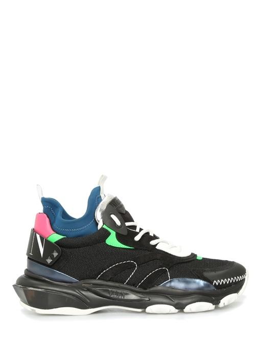 Bounce Siyah Bloklu Logolu Erkek Sneaker