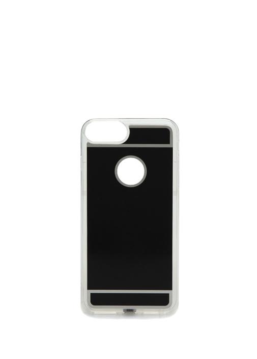 Fluxy iPhone Siyah Kablosuz Şarjlı Telefon Kılıfı