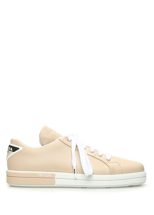 Pudra Kadın Deri Sneaker