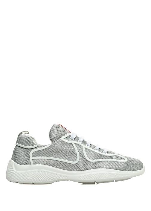 Silver File Dokulu Kadın Sneaker