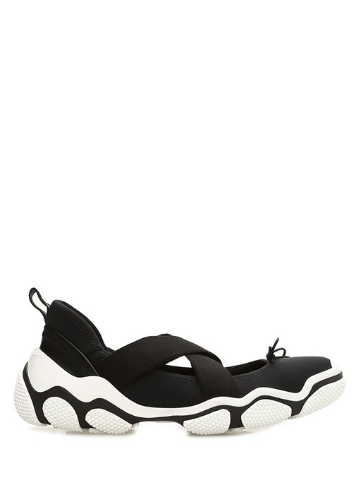 Siyah Fiyonklu Kadın Sneaker