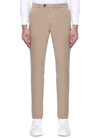 Brunello Cucinelli Erkek Kamel Normal Bel Boru Paça Pantolon Bej 50 I (IALY) Ürün Resmi