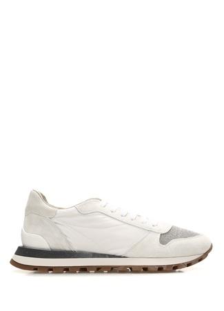 Gri Zincir Detaylı Kadın Sneaker