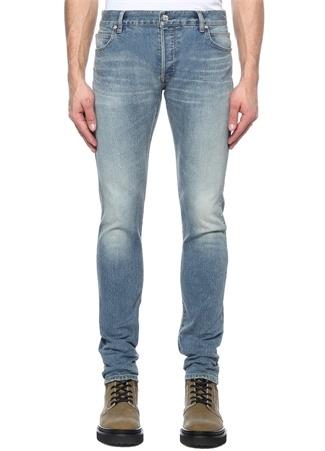 Slim Fit Mavi Normal Bel Jean Pantolon