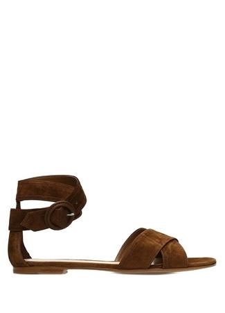Kadın Aiden Kahverengi Süet Sandalet 39 EU