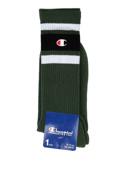 Haki Ribli Logolu Erkek Çorap