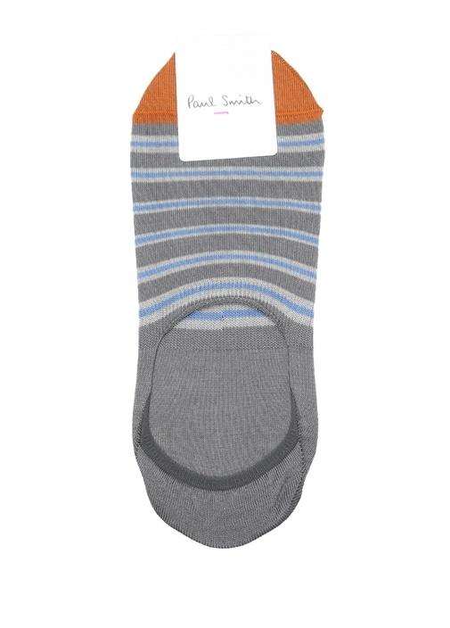Colorblocked Çizgili Erkek Çorap