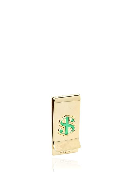 Gold Dolar İşlemeli Erkek Para Tutacağı