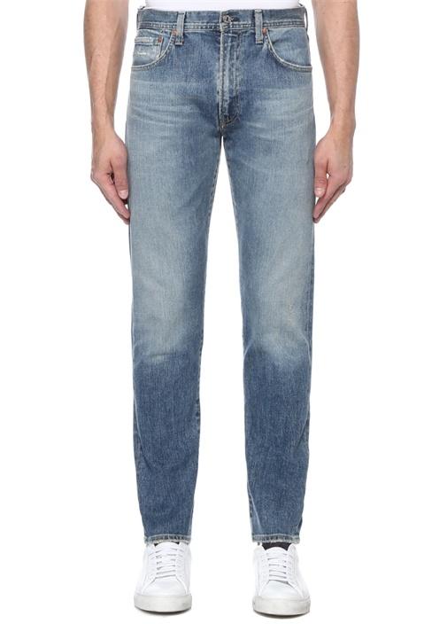 Wyatt Authentic Narrow Fit Mavi Jean Pantolon