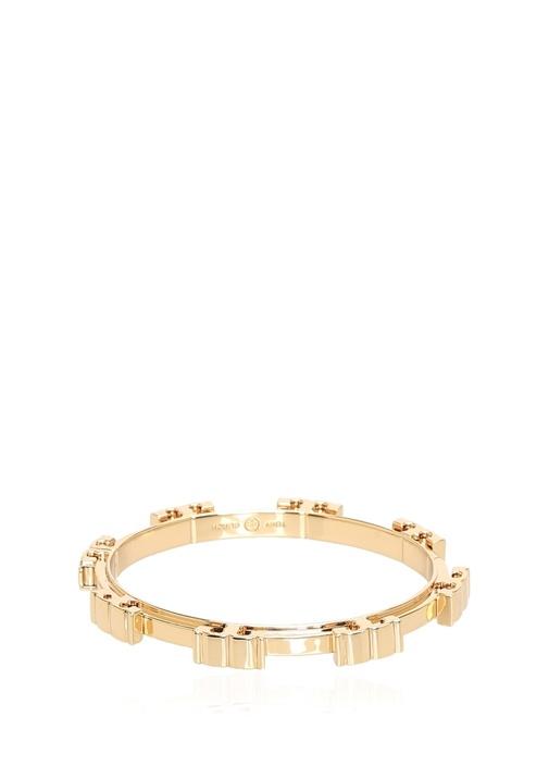 Gold Logolu Kadın Bilezik
