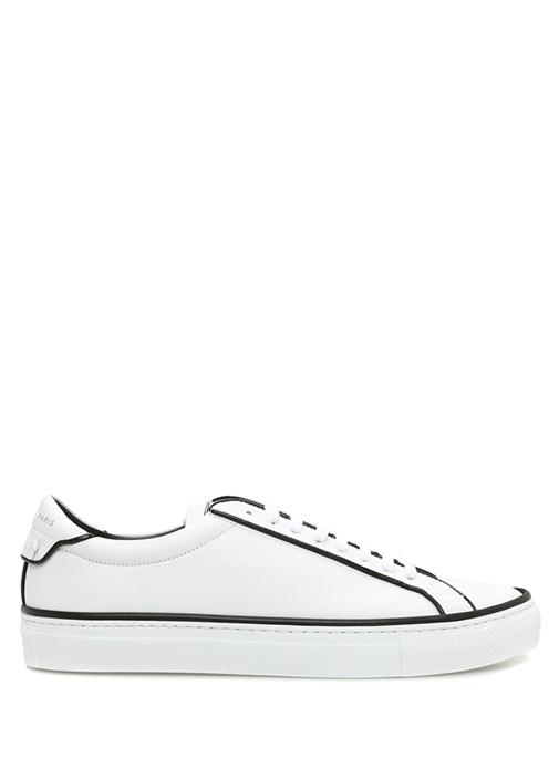 Urban Street Beyaz Şeritli Erkek Deri Sneaker