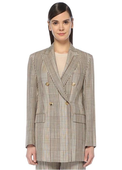 Valerie Kırlangıç Yaka Kruvaze Blazer Ceket