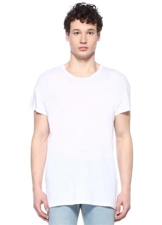 Karnaby Beyaz Keten T-shirt
