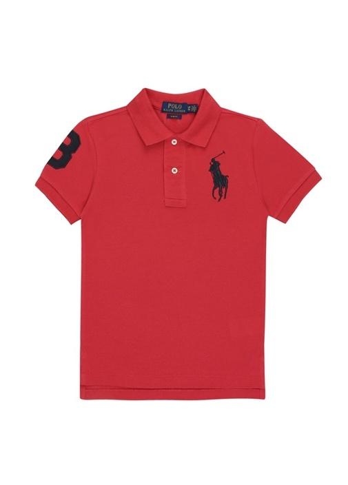 Cruise Pembe Polo Yaka Logolu Erkek Çocuk T-shirt