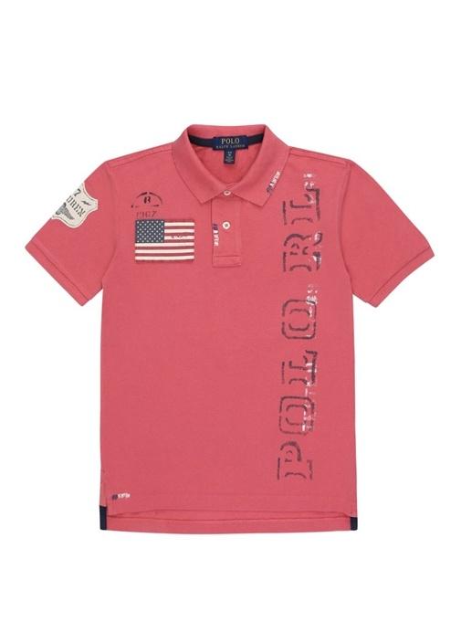 Cruise I Pembe Polo Yaka Erkek Çocuk T-shirt