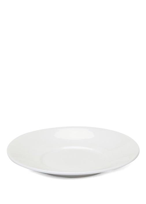Beyaz Porselen Espresso Fincan Tabağı