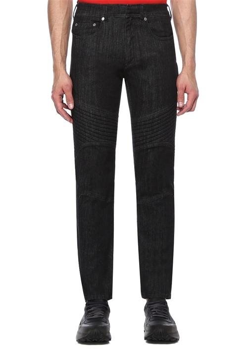 Skinny Fit Dekoratif Dikişli Jean Pantolon