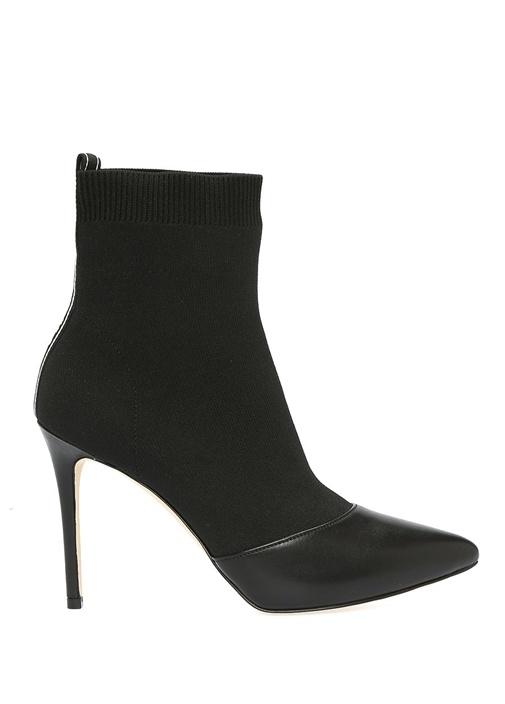 Vicky Siyah Çorap Formlu Kadın Bot