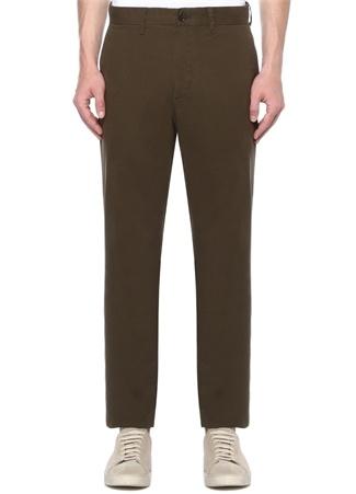 Slim Fit Haki Normal Bel Pantolon
