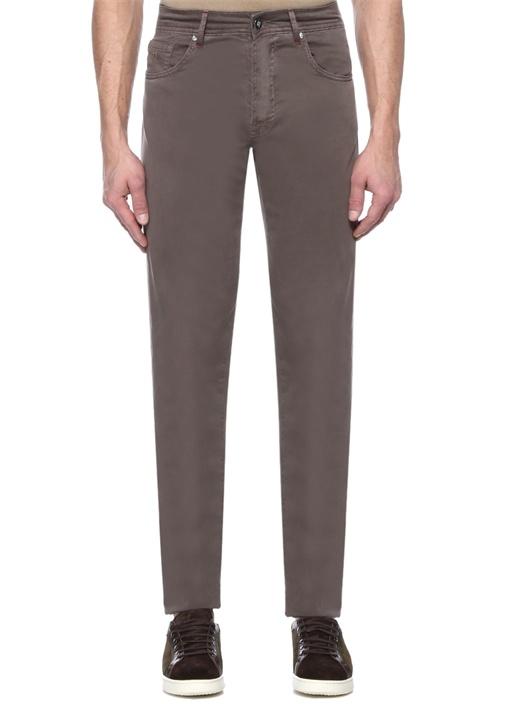 Vizon Normal Bel Kanvas Pantolon