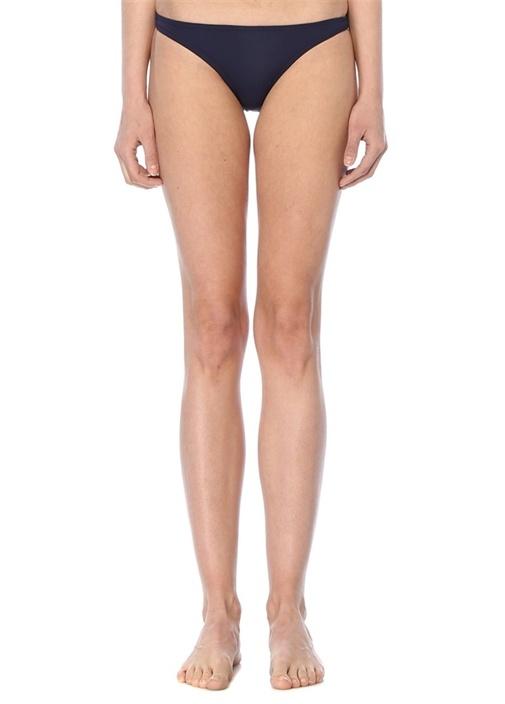 Lacivert High Cut Bikini Altı