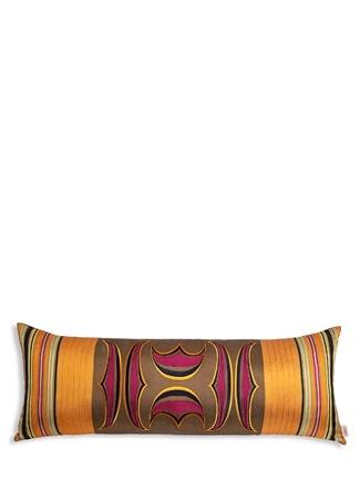 Kutnia Miskilim Nakışlı Uzun 50x70 Cm Dekoratif Yastık Turuncu Ürün Resmi