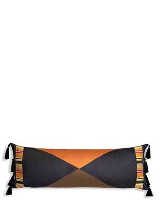 Kutnia Miskilim Saçaklı 25x80 Cm Dekoratif Yastık Turuncu Ürün Resmi