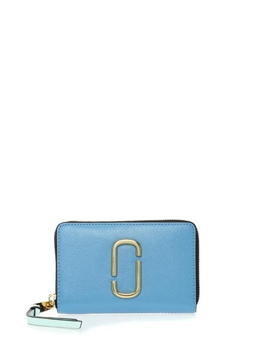 Marc Jacobs Snapshot Small Mavi Vizon Logolu Kadın Deri Cüzdan – 1799.0 TL