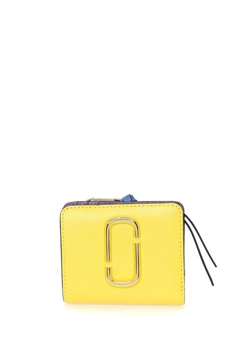 Marc Jacobs Snapshot Sarı Logolu Kadın Deri Cüzdan – 1349.0 TL