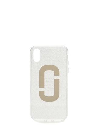 25d76f7774d90 Gri Logo Baskılı Simli ıPhone X TelefonKılıfı HIZLI BAK MARC JACOBS ...