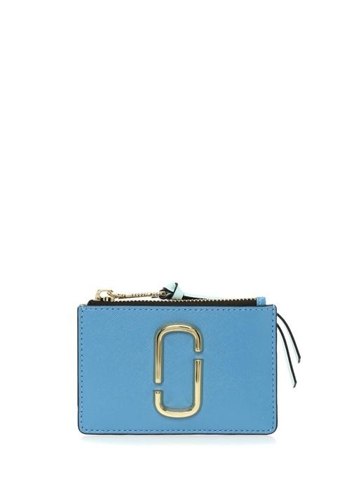 Marc Jacobs Snapshot Mavi Logolu Kadın Deri Cüzdan – 1199.0 TL