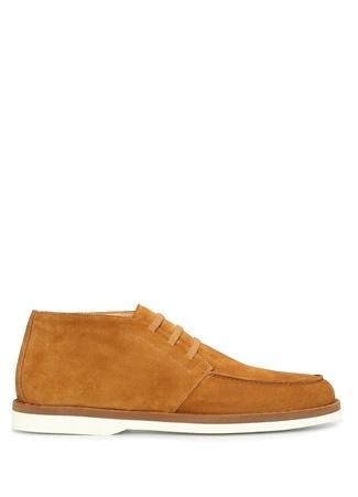 Erkek Taba Süet Ayakkabı Turuncu 7.5 US