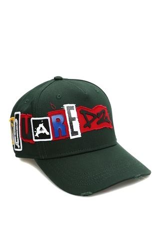 Dsquared2 Erkek Haki Logo Patchli Şapka Yeşil Ürün Resmi