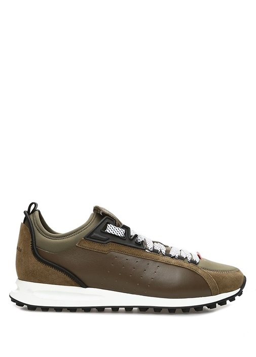 2Run Haki Erkek Deri Sneaker