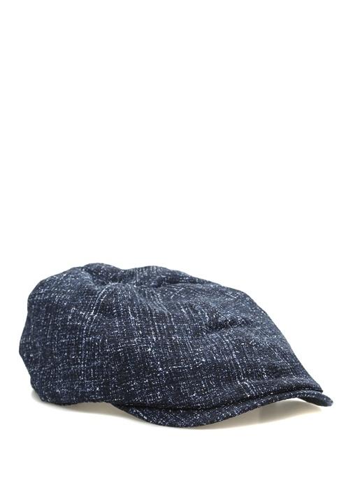 Emporio Armani Mavi ERKEK Lacivert Denim Görünümlü Erkek Şapka ... 6730ece1cc