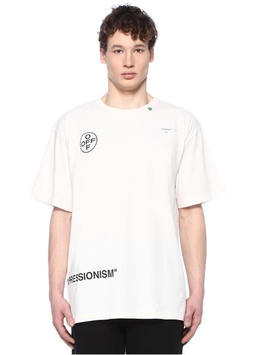 Off-whıte Beyaz Logo Baskılı T-shirt – 2249.0 TL
