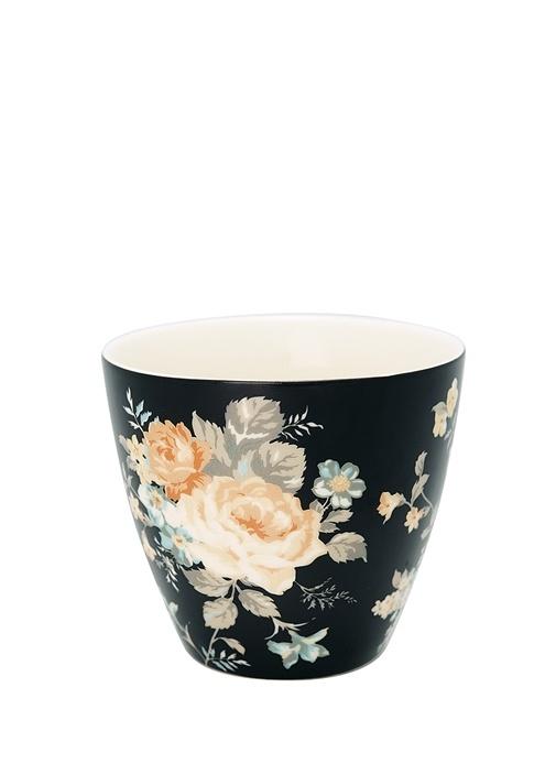Josephine Çiçek Desenli Porselen Latte Bardağı
