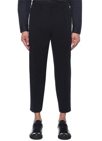 Lacivert Normal Bel Pantolon