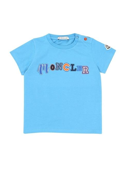 Mavi Logo Baskılı Erkek Bebek Basic T-shirt