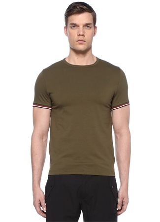 Haki Logolu Basic T-shirt
