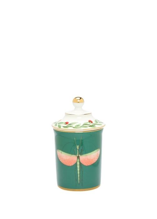 Libellula Yeşil Yusufcuk Baskılı Seramik Kupa